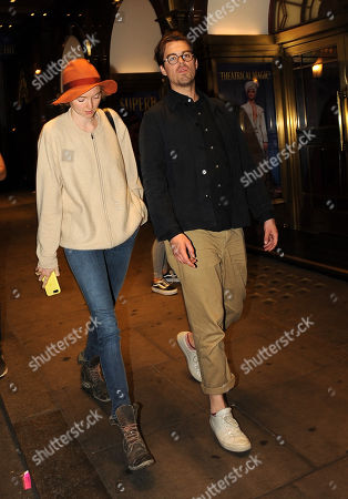 Stock Picture of Lily Cole and boyfriend Kwame Ferreira