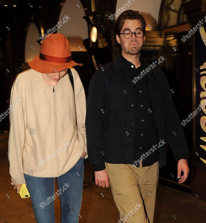 Editorial photo of Lily Cole and Kwame Ferreira out and about, London, UK - 27 Sep 2018