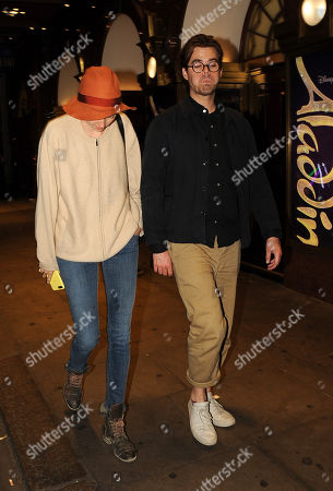 Stock Photo of Lily Cole and boyfriend Kwame Ferreira