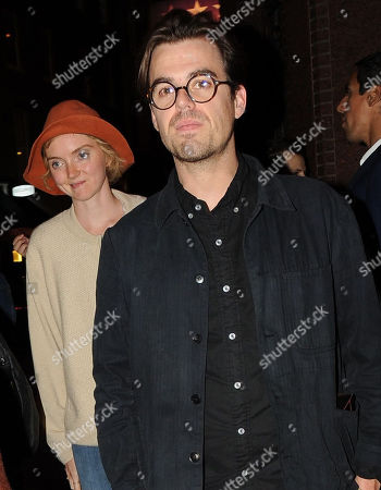 Editorial picture of Lily Cole and Kwame Ferreira out and about, London, UK - 27 Sep 2018