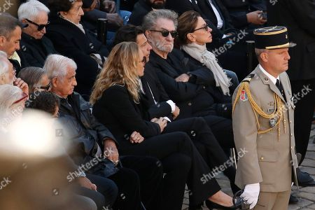 Editorial picture of Tribute ceremony for late Charles Aznavour, Paris, France - 05 Oct 2018