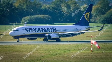 Editorial photo of Ryanair announces shutdown of Bremen base, Germany - 05 Oct 2018