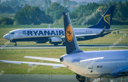 Editorial image of Ryanair announces shutdown of Bremen base, Germany - 05 Oct 2018