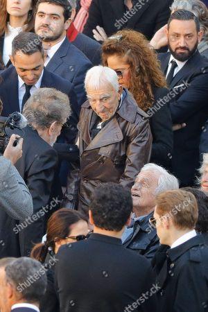 Eddy Mitchell and Jean Paul Belmondo