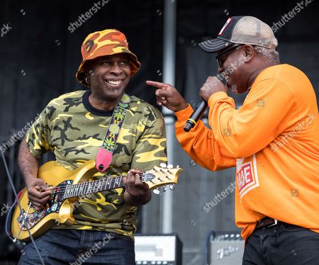 Vernon Reid and Doug Wimbish of Living Colour in concert