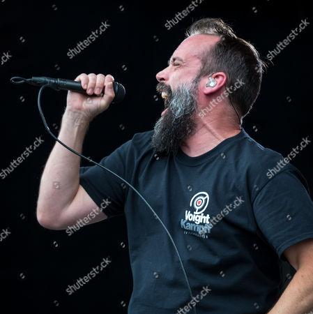 Neil Fallon of Clutch in concert
