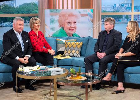Eamonn Holmes and Ruth Langsford with Mark Robertson and Lisa Seferi