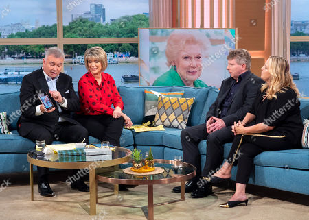Stock Image of Eamonn Holmes and Ruth Langsford with Mark Robertson and Lisa Seferi