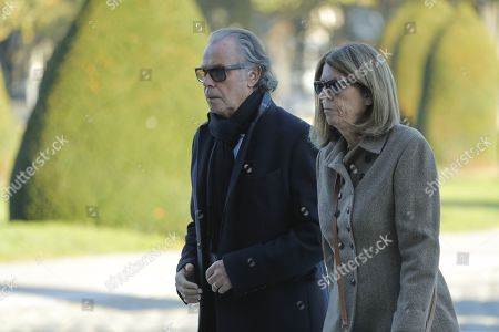 Michel Leeb and it wife Beatrice