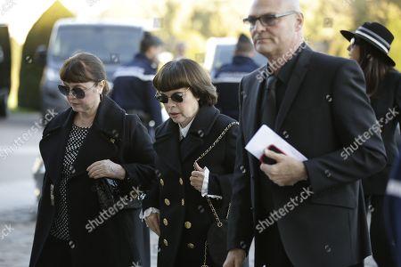 Mireille Mathieu and sister Christiane