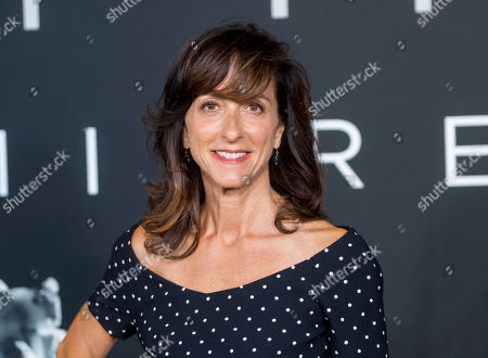 """Mary Zophres attends the """"First Man"""" premiere at the National Air and Space Museum of the Smithsonian Institution, in Washington"""