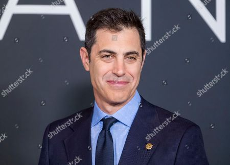 """Josh Singer attends the """"First Man"""" premiere at the National Air and Space Museum of the Smithsonian Institution, in Washington"""