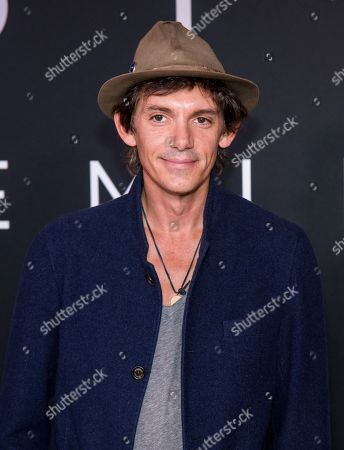 """Lukas Haas attends the """"First Man"""" premiere at the National Air and Space Museum of the Smithsonian Institution, in Washington"""