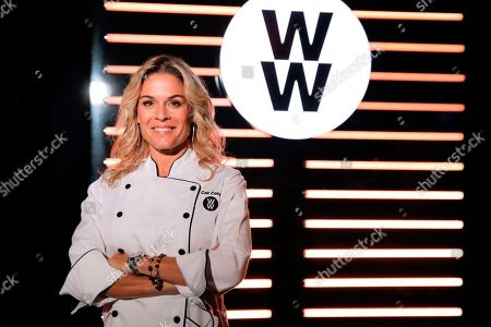 Stock Photo of Celebrity Chef and newest WW Ambassador Cat Cora opens the WW Freestyle Café: BKLYN at Barclays Center on in Brooklyn, New York. The WW Freestyle Café: BKLYN offers a diverse menu of WW Freestyle-inspired Mediterranean dishes