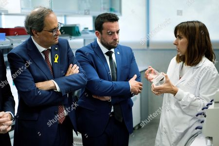 Editorial picture of Inauguration of a new campus for leukemia research in Badalona, Badalona (Barcelona), Spain - 05 Oct 2018