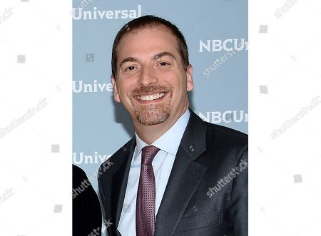 """Lester Holt, Savannah Guthrie, Hoda Kotb, Megyn Kelly, Chuck Todd. Meet the Press"""" moderator Chuck Todd attends the 2018 NBCUniversal Upfront in New York. Todd is running the second annual """"Meet the Press"""" film festival in Washington this weekend. He hopes it becomes a showcase for shorter films on newsy topics"""