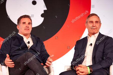 THE EVOLUTION OF AN AMERICAN BRAND Kevin Plank CEO, Under Armour, (l), Richard Edelman President & CEO, Edelman, (r).