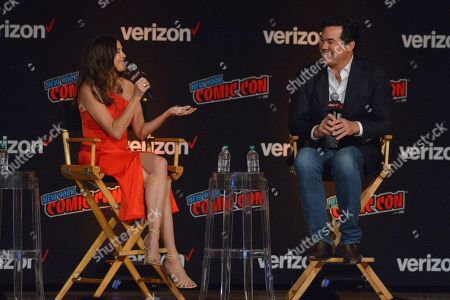 Editorial picture of Lois & Clark: The New Adventures of Superman 25th Anniversary Reunion TV show panel, New York Comic Con, USA - 05 Oct 2018