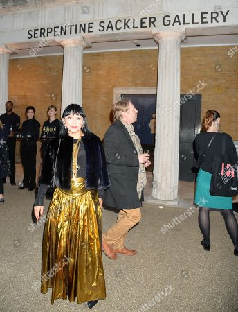 Editorial picture of 'Yugen' by Martha Fiennes exhibition, VIP preview, London, UK - 05 Oct 2018