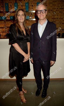 Martha Fiennes and Hans-Ulrich Obrist
