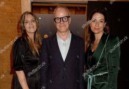 Martha Fiennes, Hans-Ulrich Obrist and Yana Peel