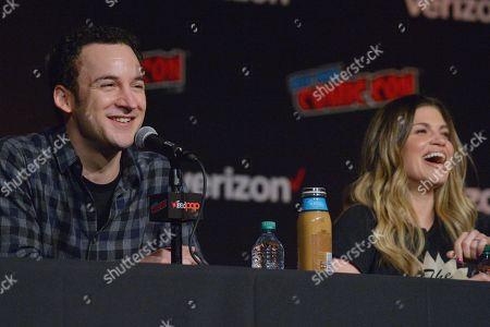 Ben Savage and Danielle Fishel