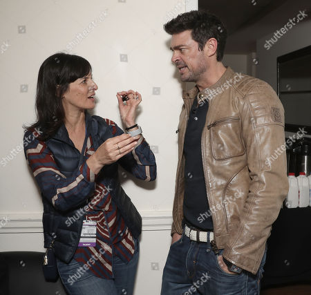 Amazon Studios Sharon Tal Iguado and Karl Urban