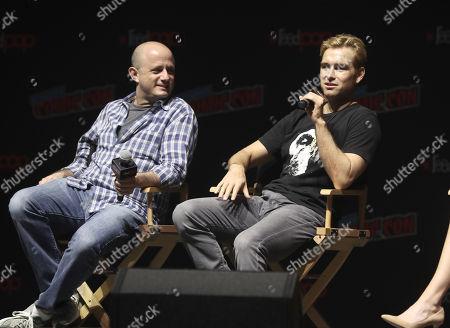 Executive Producer Eric Kripke and Anthony Starr