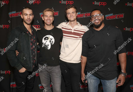 Stock Picture of Chace Crawford, Anthony Starr, Jack Quaid and Laz Alonso