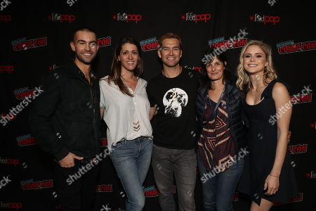 Chace Crawford, Amazon Studios Andie Green, Anthony Starr, Amazon Studios Sharon Tal Iguado and Erin Moriarty