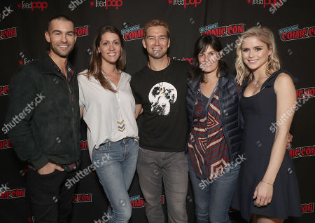 Stock Picture of Chace Crawford, Amazon Studios Andie Green, Anthony Starr, Amazon Studios Sharon Tal Iguado and Erin Moriarty