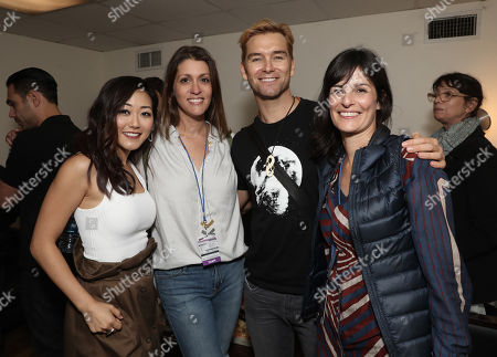 Karen Fukuhara, Amazon Studios Andie Green, Antony Starr and Amazon Studios Sharon Tal Iguado