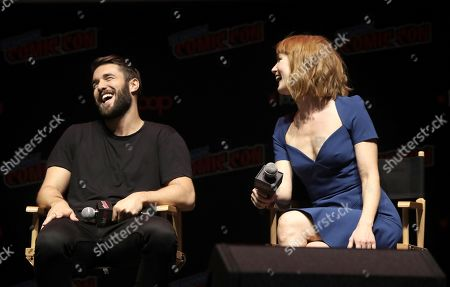 Stock Picture of Josh Bowman and Alicia Witt
