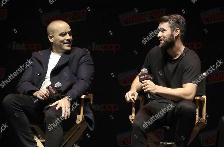 Editorial image of Amazon Prime Video 'Lore' TV show Panel, New York Comic Con, USA - 05 Oct 2018