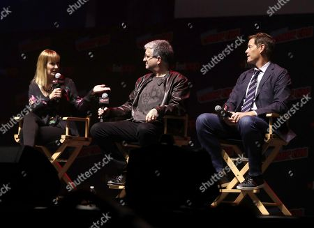 Stock Image of Executive Producer Gale Anne Hurd, Executive Producer Sean Crouch and Executive Producer Howard Owens