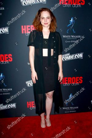 Editorial picture of 'Heroes After Dark' Arrivals, New York Comic Con, USA - 05 Oct 2018