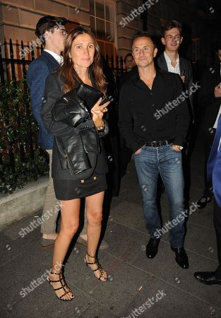 Dennis Wise and wife Claire at Annabels