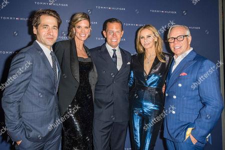 Karl Spoerri, Nadja Schildknecht, Daniel Grieder (CEO Tommy Hilfiger), Tommy und Dee Ocleppo