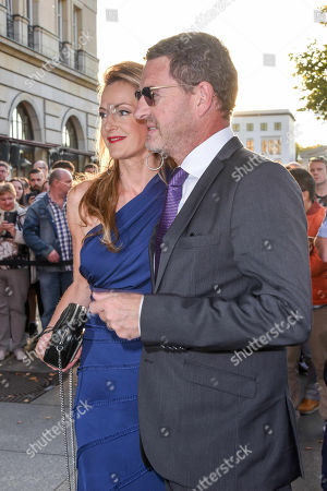 Stock Picture of Kai Diekmann and  Katja Kessler - Autorin