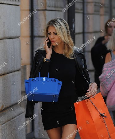 Editorial photo of Melissa Castagnoli out and about, Milan, Italy - 06 Oct 2018