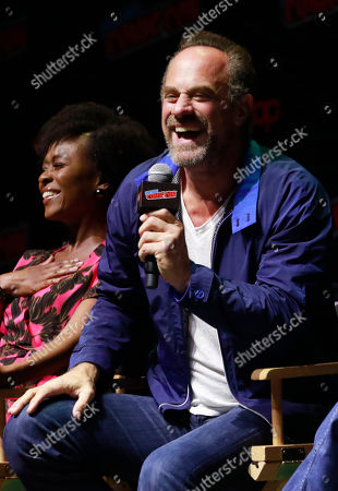 Editorial photo of 'Happy!' TV show panel, New York Comic Con, USA - 06 Oct 2018