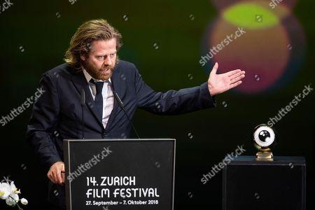 Editorial photo of 14th Zurich Film Festival, Switzerland - 06 Oct 2018