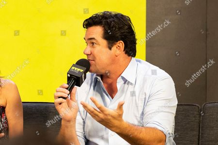 Dean Cain speaks on stage on the third day of New York Comic Con