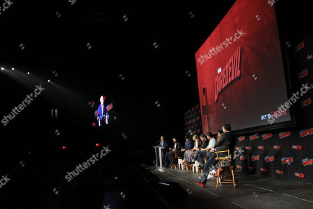 Editorial photo of Netflix Original Series Marvel's Daredevil Season 3 Panel at New York Comic Con 2018, USA - 06 Oct 2018