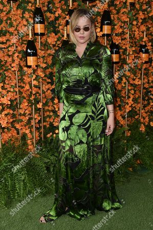 Abbie Cornish attends the 9th Annual Veuve Clicquot Polo Classic at Will Rogers State Historic Park, in Los Angeles