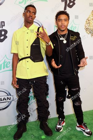 Christian Combs and Justin Dior Combs