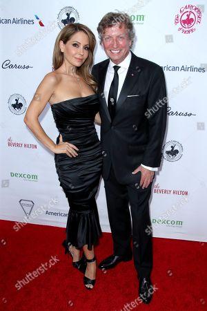 Lisa LoCicero and Nigel Lythgoe