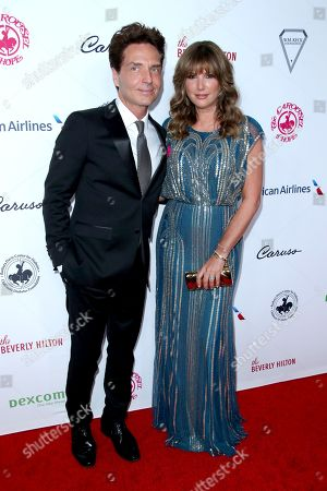 Richard Marx and Daisy Fuentes