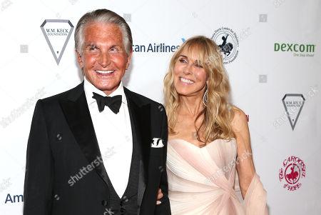 George Hamilton and Alana Stewart Stewart