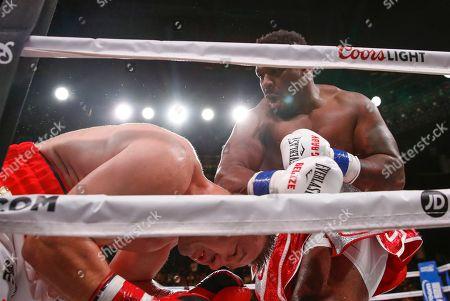 Editorial image of Miller Adamek Boxing, Chicago, USA - 06 Oct 2018